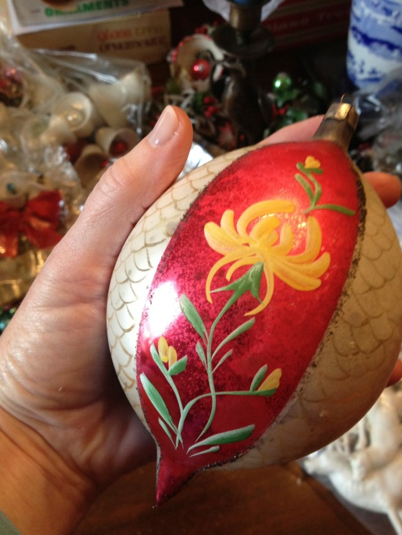 "Though I love so many ornaments, I have a special fondness for the Polish ones. This is a fabulous ""jumbo"" teardop."