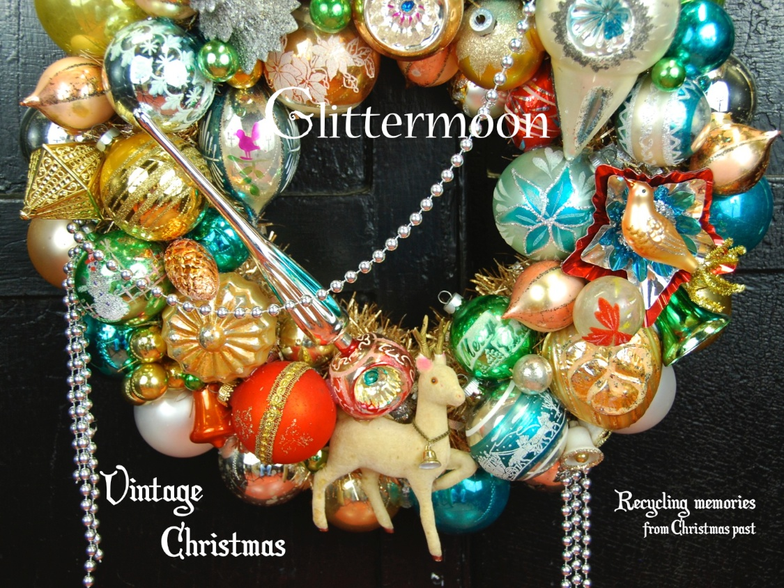 Madeline S Memories Vintage Christmas Cards: Glittermoon Vintage Christmas