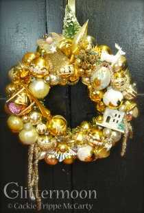 All that glitters is gold here. A rich concoction with so many fabulous parts to make up a 24 carat dream. $250 SOLD