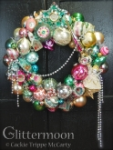 Ethereal pastels abound on this lovely wreath featuring angels and churches and all sorts of other lovely accents. Glorious indeed. $285 ** SOLD **