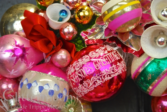 Detail of LITTLE PINKY WREATH © GLITTERMOON PRODUCTIONS LLC 5