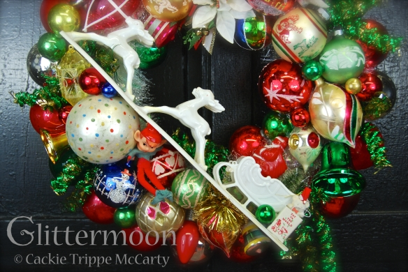 Detail of Nanny's  Wreath ©Glittermoon Productions LLC 2