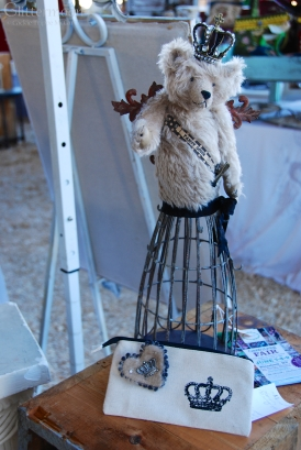 Bear creation at Earth Angels.