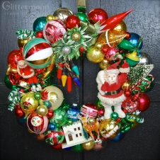 """Old-Time Christmas 20"""" diameter $250 **SOLD**"""