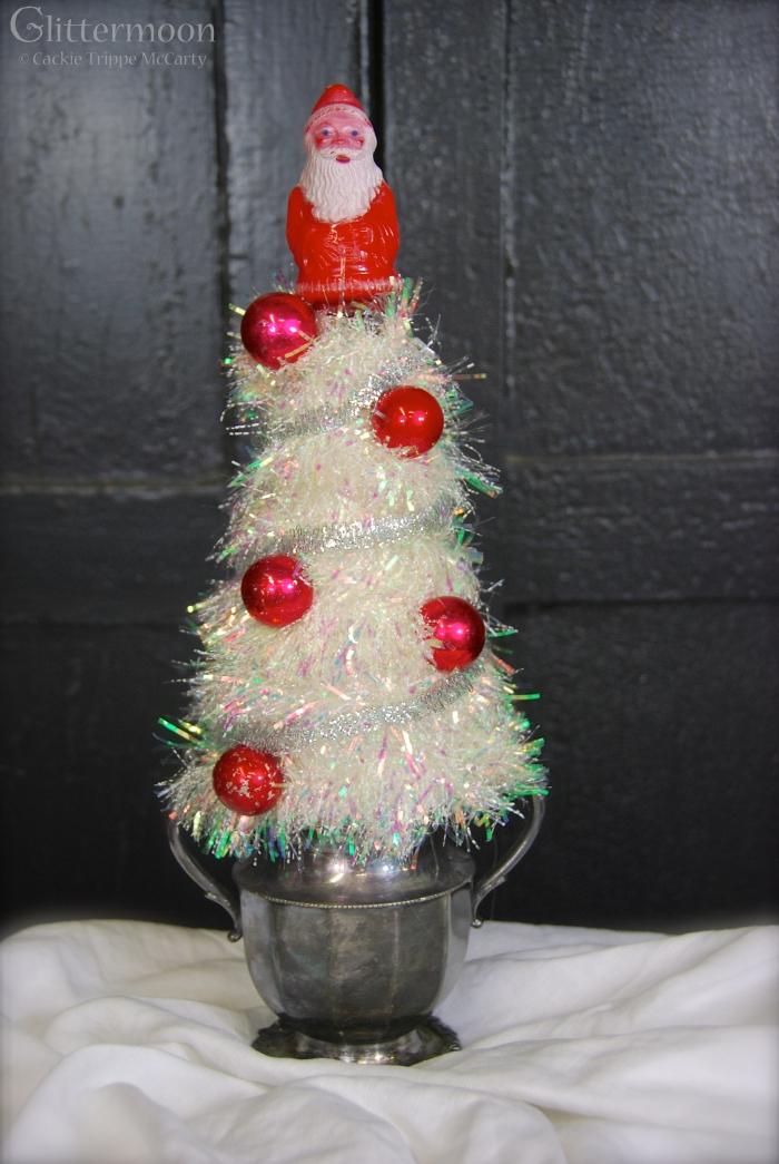 Sugar Santa Topiary