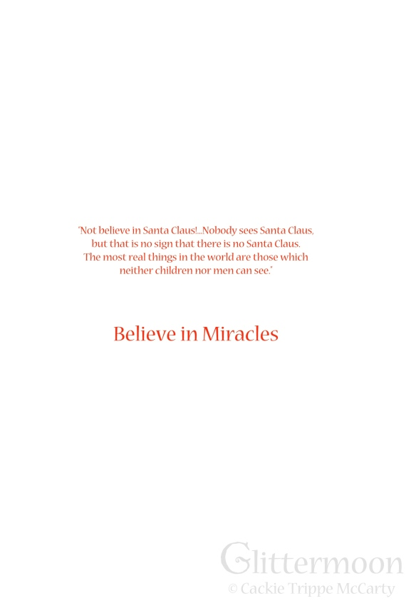 Inside Greeting: Believe