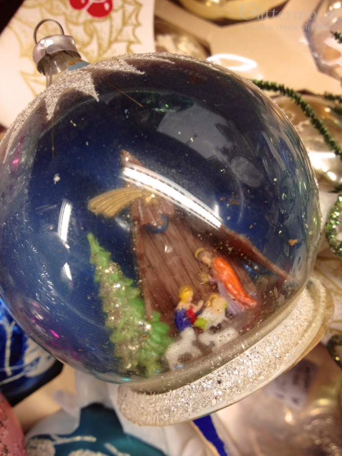 This West German Nativity ornament is incredibly special.