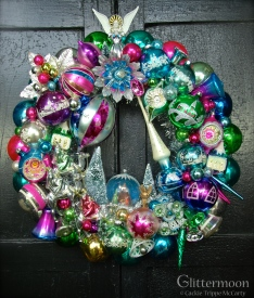 "A Joy-Full Wreath 20"" Diameter - Custom Order - SOLD"