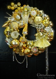 """Heavenly Gold 17"""" $265 *SOLD*"""