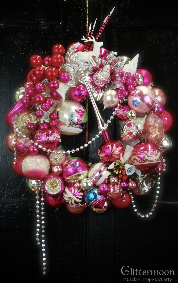 Pink Passion Wreath 17%22