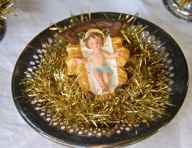 Baby Jesus Mini Topiary