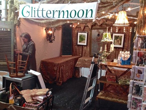 Glittermoon Booth at Country Living Holiday Bazaar 2013 (13)