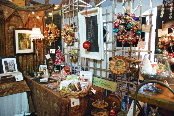 Glittermoon Booth at Country Living Holiday Bazaar 2013 (5)