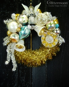 Shabby Angel Mini Wreath