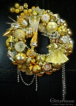 Heavenly Gold Wreath 17%22