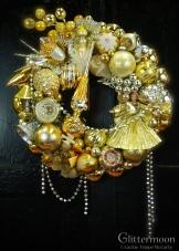 Heavenly Gold Wreath 17%22