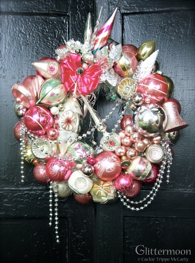 """This is the wreath Mariah Carey bought in 2013, """"Pink Parfait."""""""