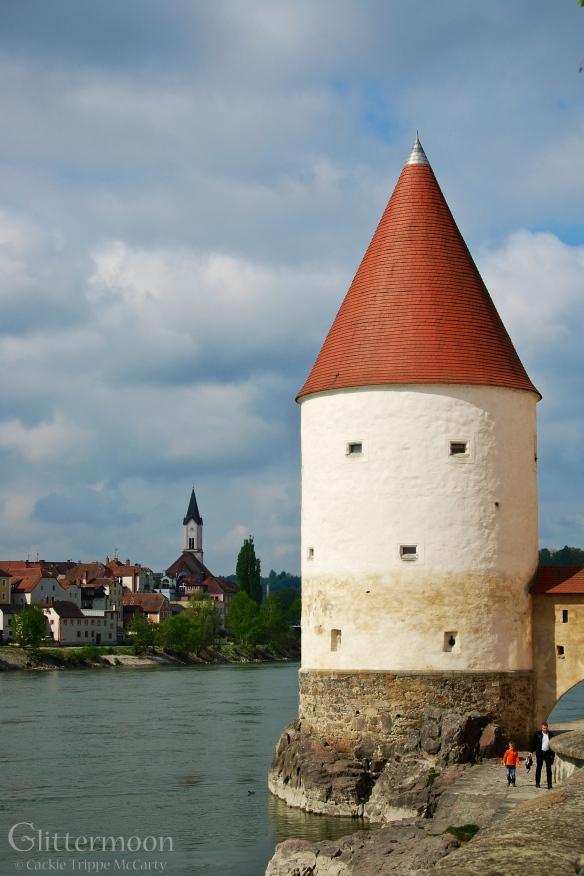 2013 Flood Marks in Passau, Germany