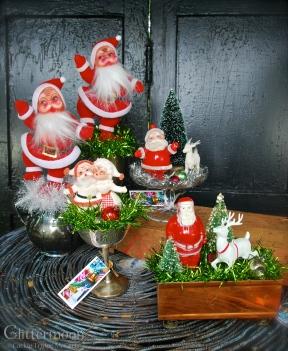 Ho Ho HO - a bunch of Santa mini topes