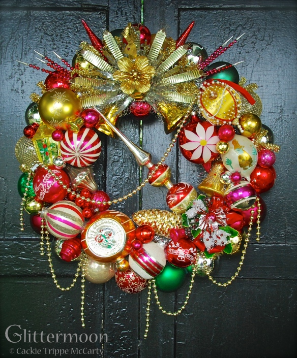 Pretty as a Peacock Wreath