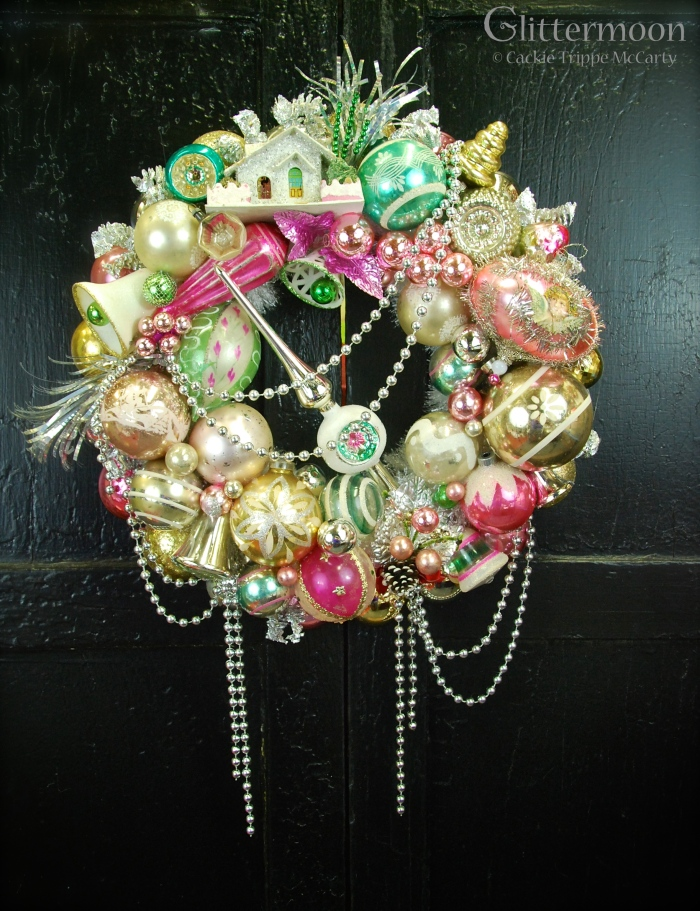 Pink & Green Fantasy Wreath