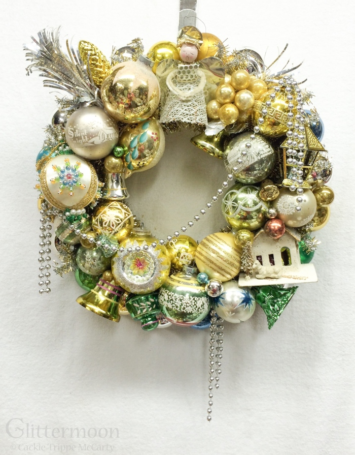 Sara's Wreath ©Glittermoon Vintage Christmas 2014