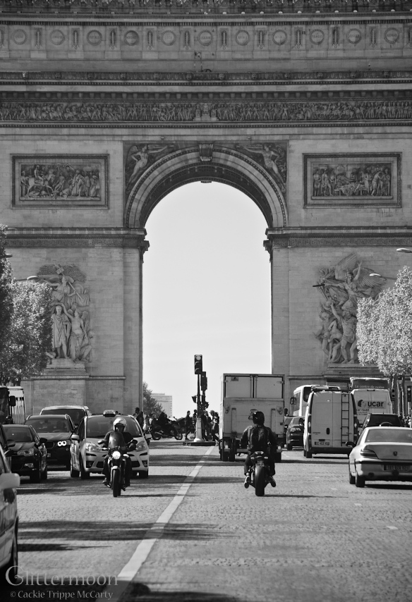 Arc de Triomphe, Paris 2014