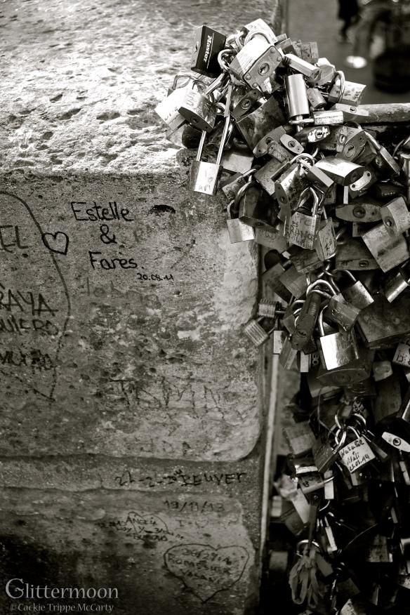 Locks of love - Paris