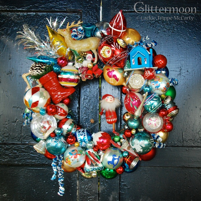 """Christmas Sport"" wreath - available in the Beekman 1802 Mercantile flagship store in Sharon Springs, NY"