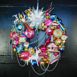 Flying High Wreath - Featured in the L.A. Times