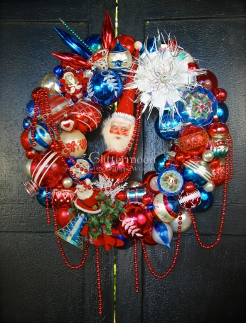 Patriotic Parade - A bit of the old red, white, and blue. Feturing a fab German topper and oh, so many other treats. $300 *SOLD