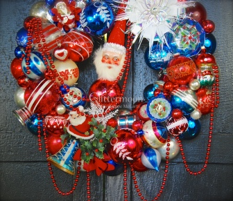 Detail of Patriotic Parade Wreath (1)