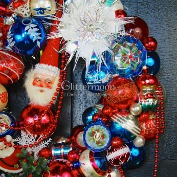 Detail of Patriotic Parade Wreath (2)