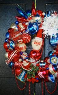 Detail of Patriotic Parade Wreath (3)