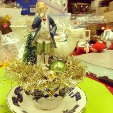 Gentleman in a tartan teacup!