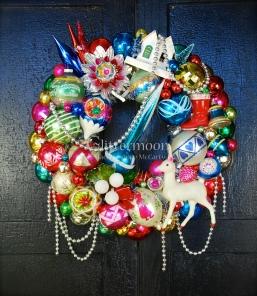 Blue Rocket Wreath $250 *SOLD*