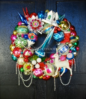 Blue Rocket Wreath $250 *SOLD*