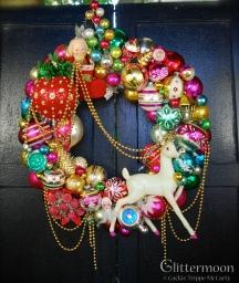 Reindeer Rhapsody Wreath