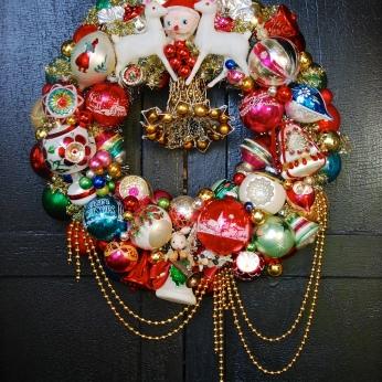 """Deer Santa"" Available in Nov. at Beekman1802.com SOLD"