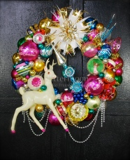 Holiday Glamour Wreath