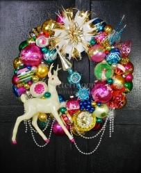 Holiday Glamour Wreath