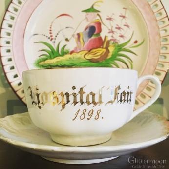 I fell for this Hospital Fair cup & saucer