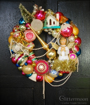 Angel Pearl Wreath *SOLD*