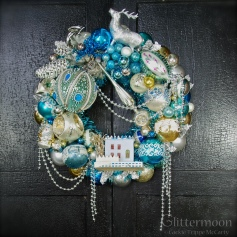 Blue Enchanted Cottage - Available mid-November at Beekman1802.com *SOLD*