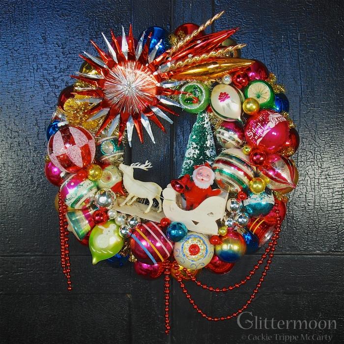 Christmas Journey Wreath