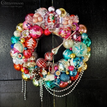 Christmas Kids wreath for Beekman 1802 *SOLD*