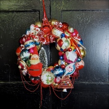 He Sees You wreath for Beekman 1802 *SOLD*