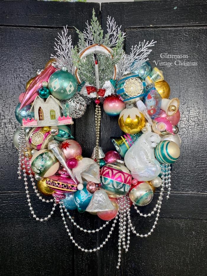 Holiday Glitter Wreath